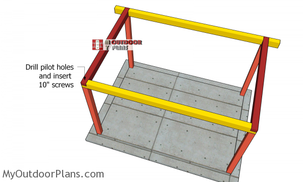 Fitting-the-crossbeams