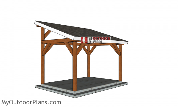 How-to-build-a-10x14-lean-to-pavilion