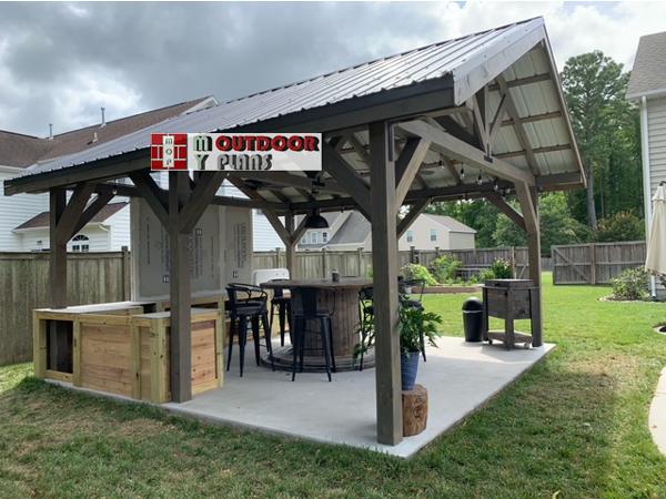 DIY Project - 16x16 Gable Pavilion