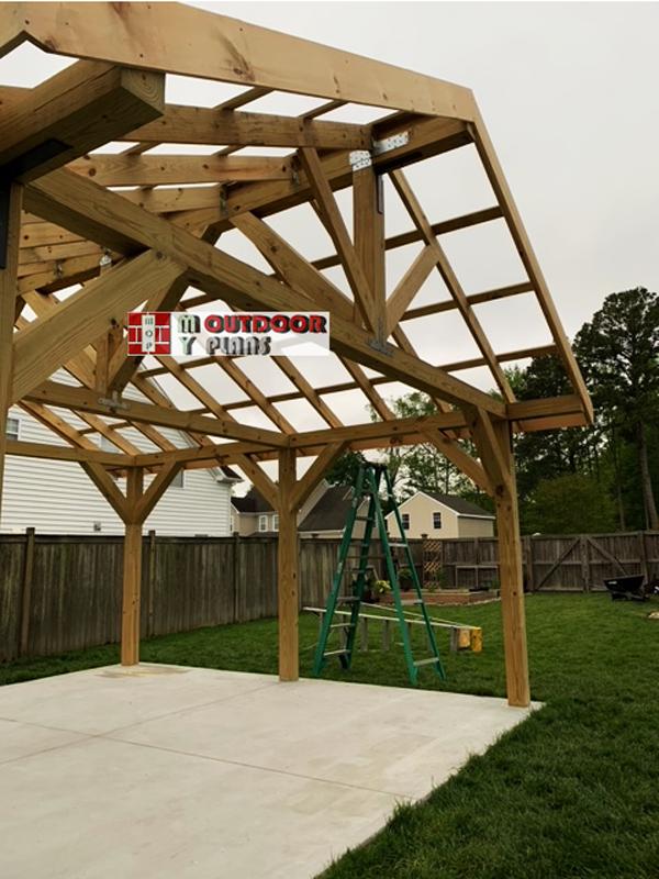 Roof-structure---pavilion