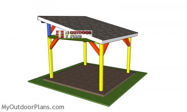 12x12-lean-to-pavilion-plans---assembled