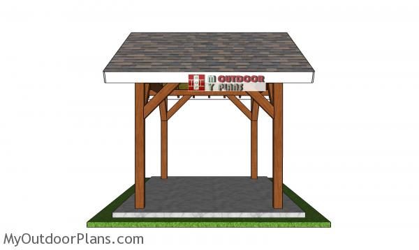 12x8-gable-pavilion-plans---side-view