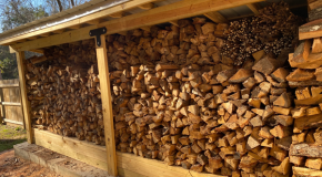 DIY Project – 4×16 3 Cord Firewood Shed