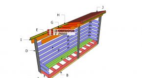 3×10 Wood Storage Shed Plans – Part 2