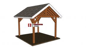 10×12 Gable Pavilion – Free DIY Plans
