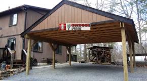 DIY Project – 2 Car Double Carport