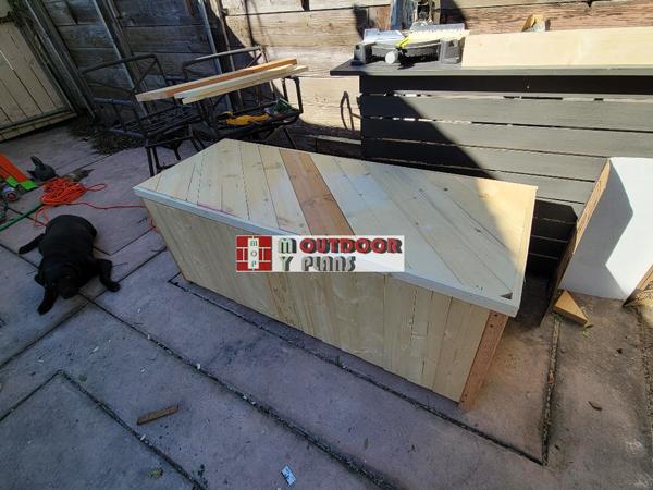 DIY Project - Outdoor Storage Box
