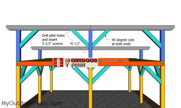 Fitting-the-braces---top-ridge-beam