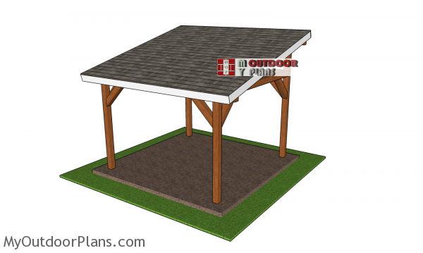 How-to-build-a-12x12-lean-to-pavilion