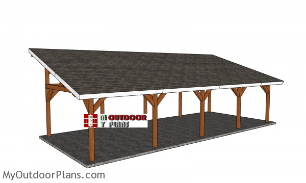How-to-build-a-16x40-lean-to-pavilion