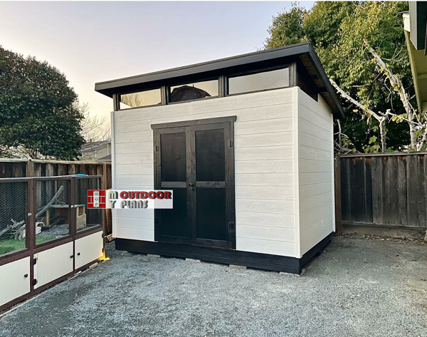 DIY Project - 8x12 Modern Office Shed