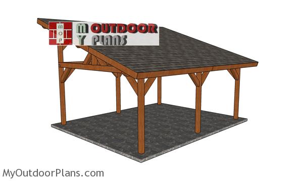 16x20-Lean-to-Pavilion-Plans