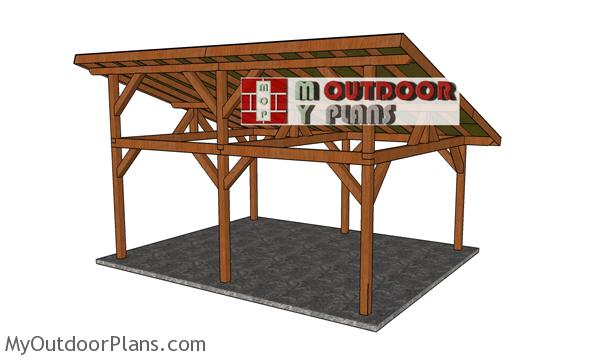 16x20-Lean-to-Pavilion---back-view