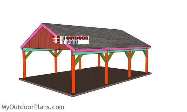 20x30-pavilion-plans---gable-roof