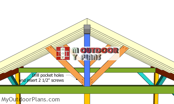 Fitting-the-diagonal-trims-for-gable-roof