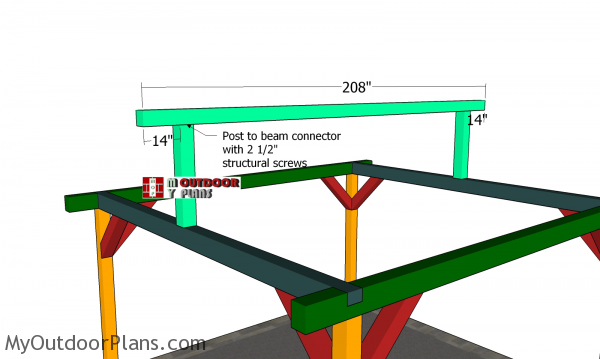 Fitting-the-ridge-beam