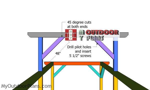 Fitting-the-ridge-beam-braces