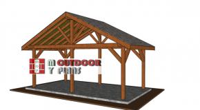 20×10 Gable Pavilion – Free DIY Plans
