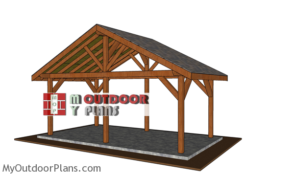 How-to-build-a-20x10-pavilion-with-gable-roof