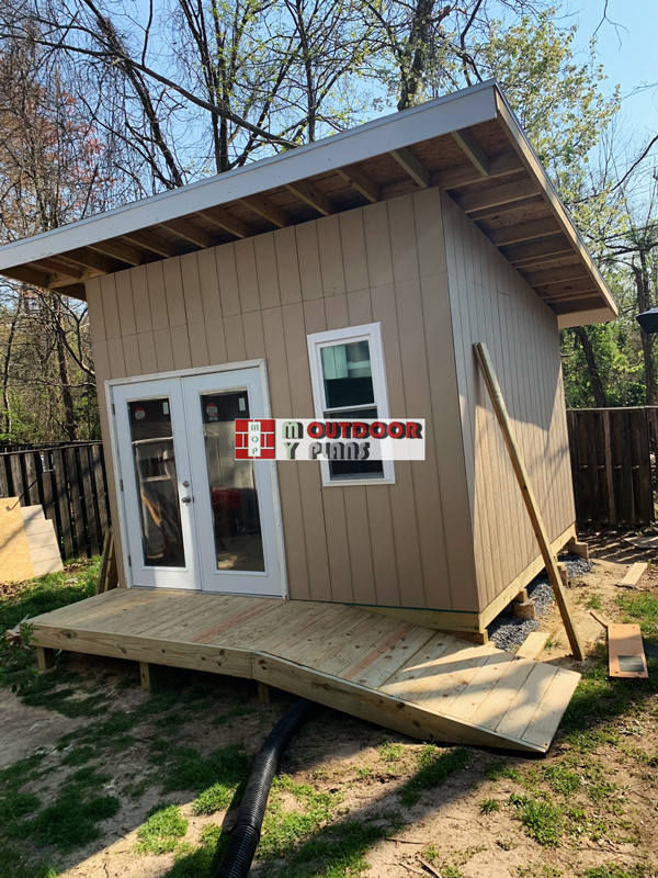 DIY Project - 12x12 Lean to Shed