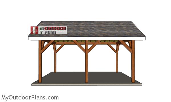 16x18-garden-pavilion-plans---side-view