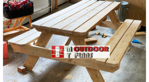 DIY Project – Wood 8 ft Picnic Table