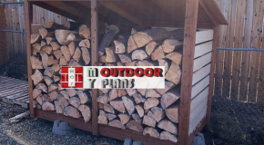 DIY Project – 1 cord Wood Shed