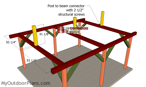 Fitting-the-supports-for-the-ridge-beams