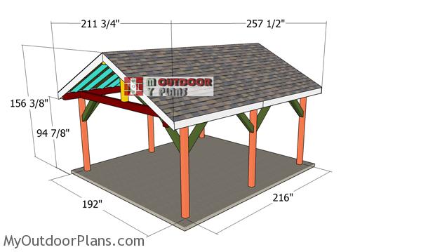 How-to-build-a-16x18-gable-pavilion