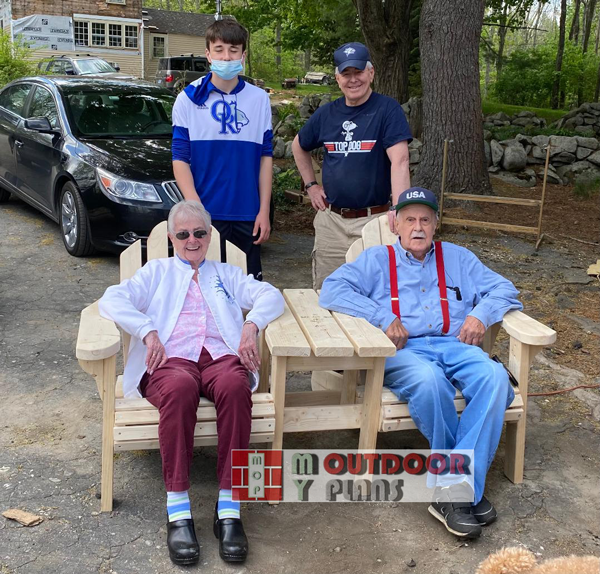 Make Project - Adirondack Double Chair
