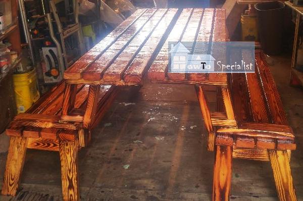 Make Project - Folding Picnic Table