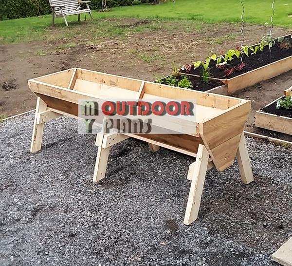 Vegetable Planter - DIY Project