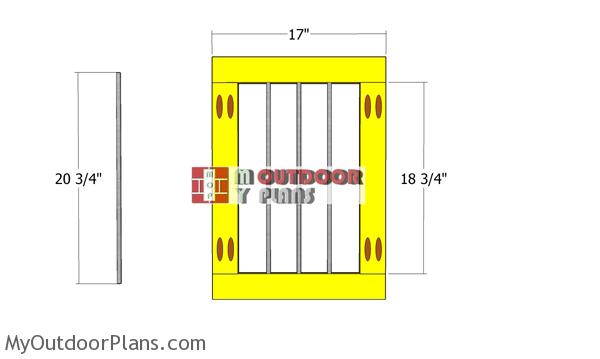 Door-frame-for-kennel
