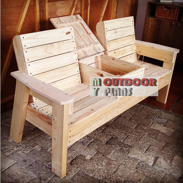 Double-chair-bench-with-cooler