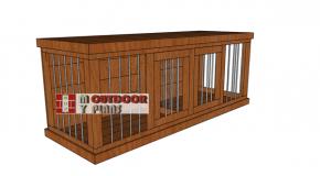 Large Dog Kennel – Free DIY Plans