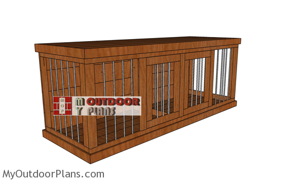 How-to-build-2-dog-kennel-plans