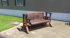 Glider Swing Bench – DIY Project