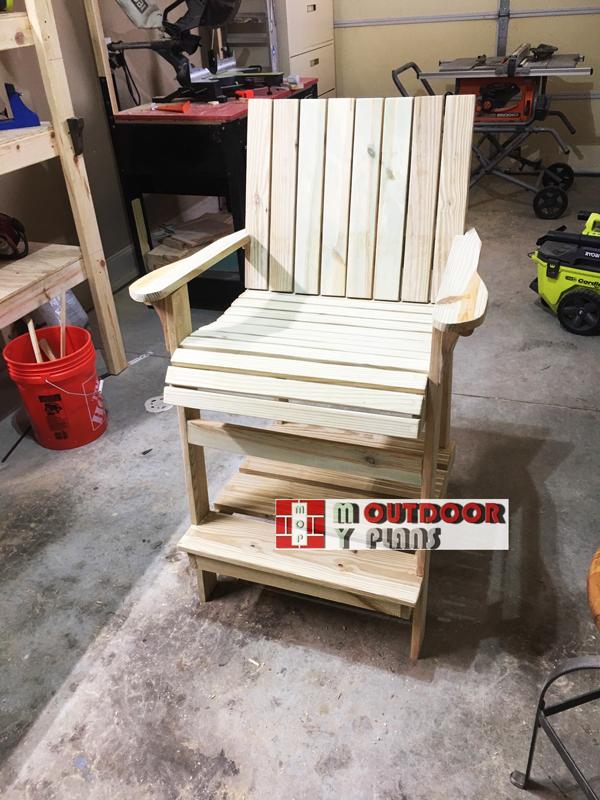 Make Project - Tall Adirondack Chair