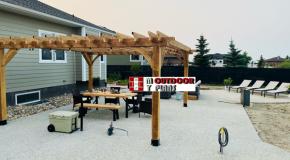 16×16 Free Standing Pergola – DIY Project