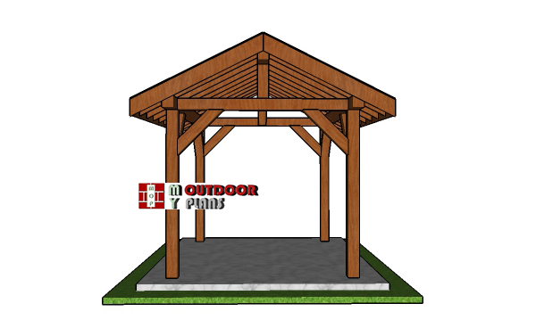 8x10-Pavilion-Plans---front-view