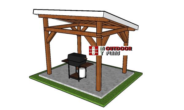 8x10-lean-to-pavilion-plans---free-diy-plans