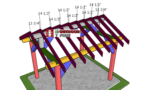 Fitting-the-rafters---8x10-gable-roof