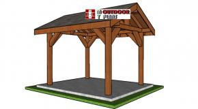 8×10 Gable Pavilion Plans – PDF Download