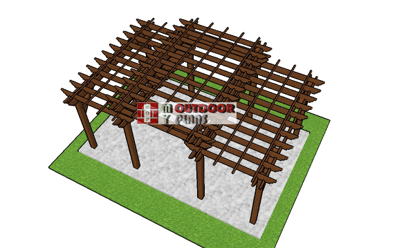 How-to-build-a-large-tiered-pergola