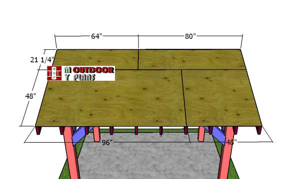 Roof-sheets---gable-pavilion