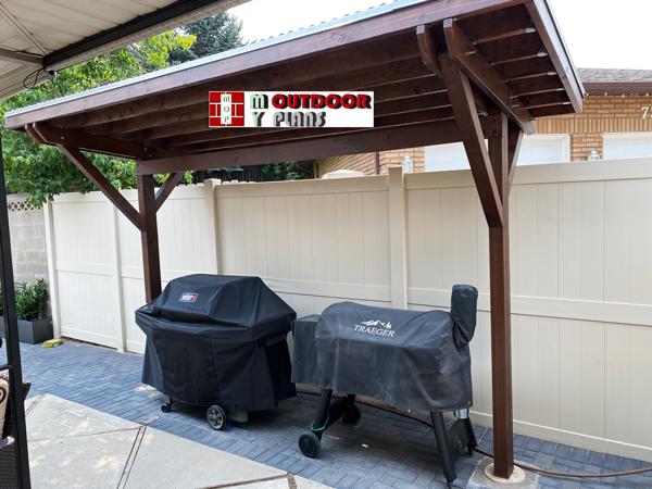 2 Post Pergola - DIY Outdoor Project