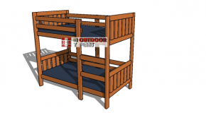Twin Bunk Bed Plans – PDF Download