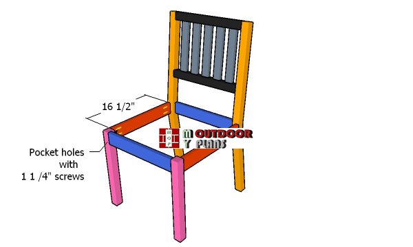 Assembling-the-frame-of-the-chair