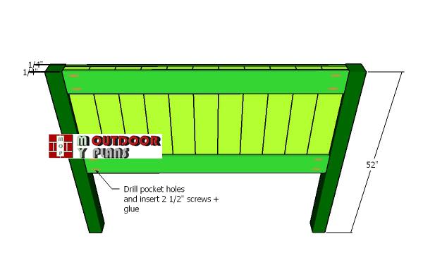 Assembling-the-headboard