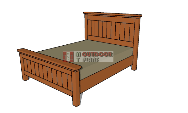 DIY-Farmhouse-bed---quee-size